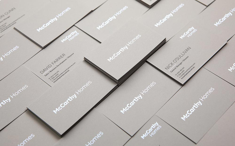 McCarthy Homes - Graphic Design Melbourne