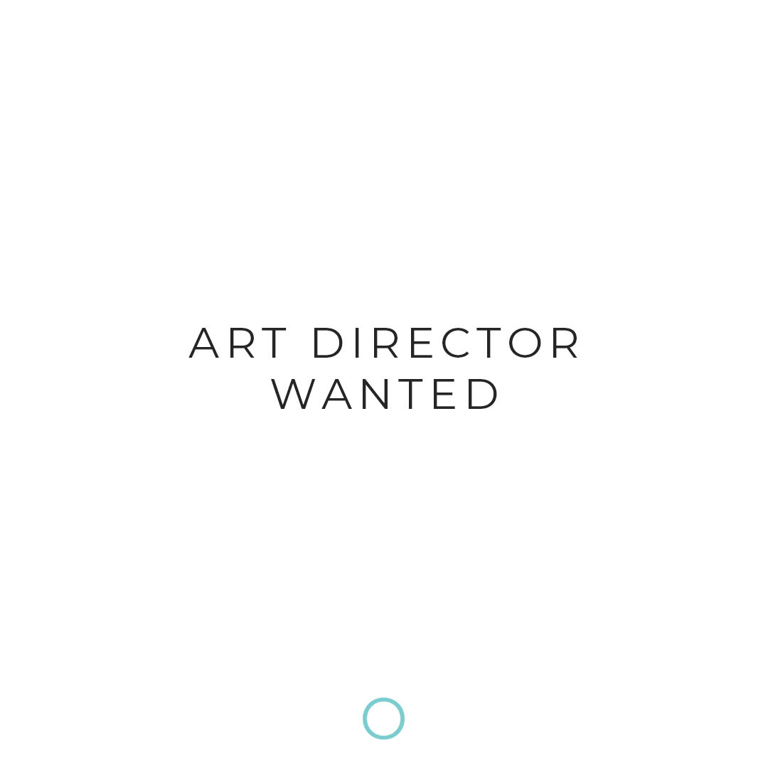 art director wanted